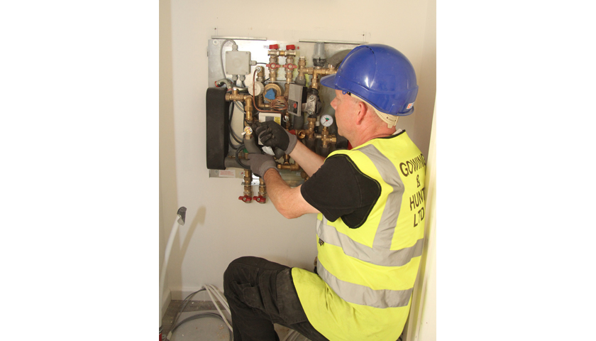 Custom Built Zurich Heat Interface Units Supplied for Cambridgeshire Apartments