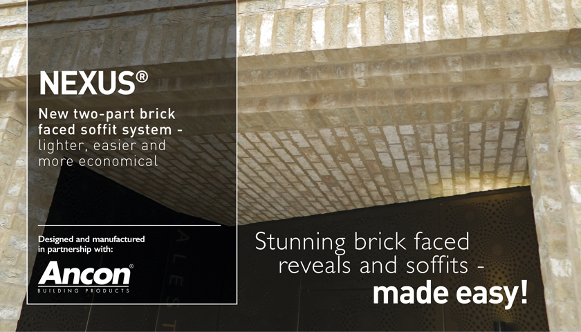 Ibstock Kevington Nexus Brick Soffits