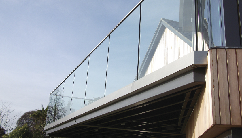 SG's 'Glassrail' Glass Balustrade System