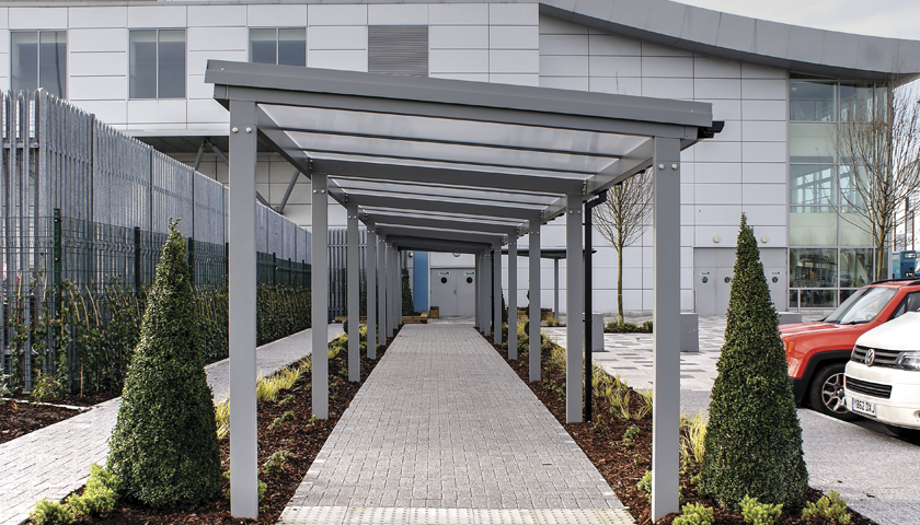 TwinFix Covered Walkway