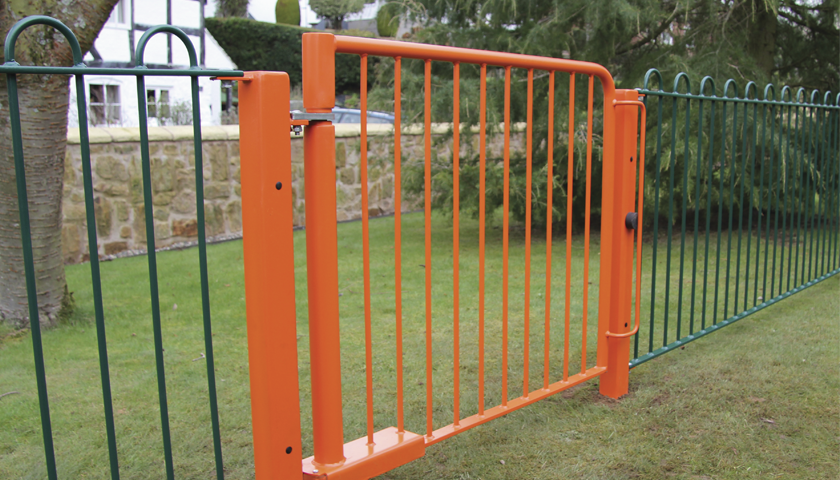 Self Closing Steel Gate