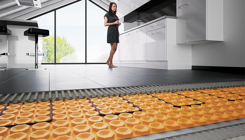 Schluter Underfloor Heating System Floor Matttroy