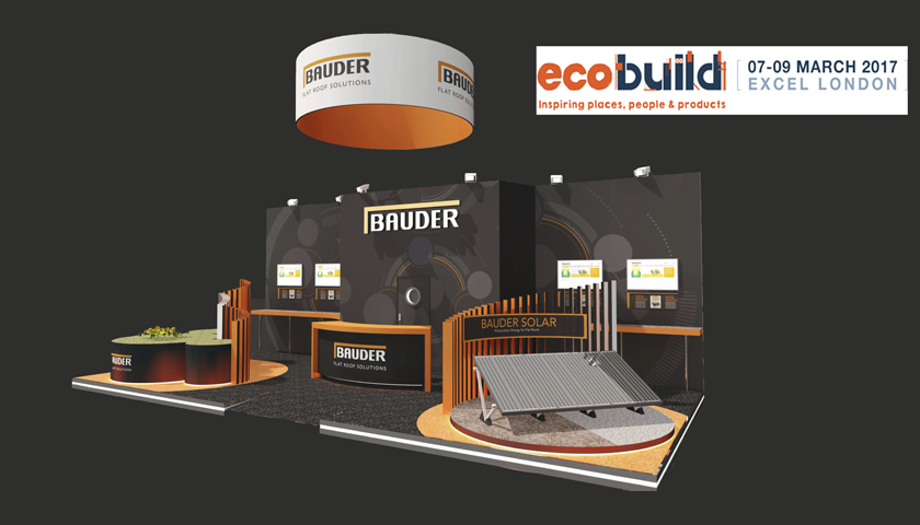 Flat Roofing Manufacturer Bauder Is Back At Ecobuild Spu