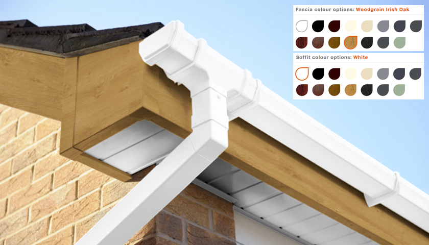 coloured fascias