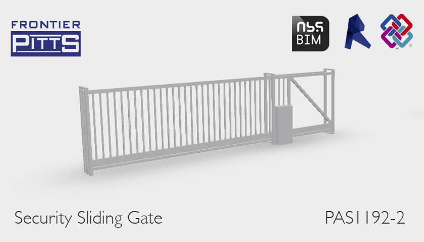 Frontier Pitts perimeter security products now available on BIM library