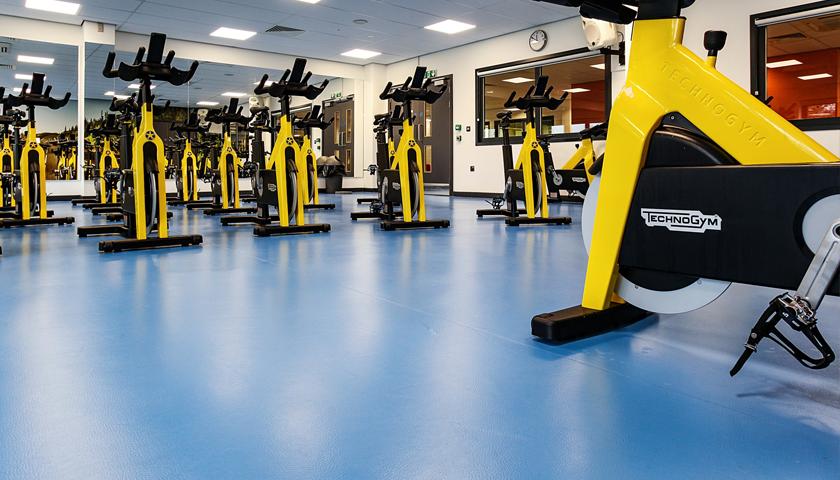 Viynl Sports Flooring