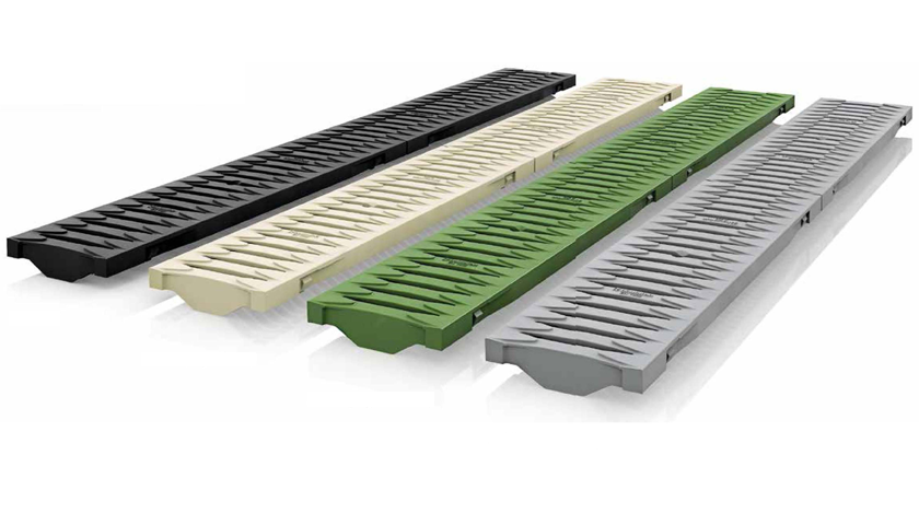 Coloured Drainage Gratings
