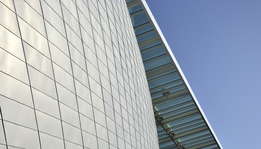 zinc façade