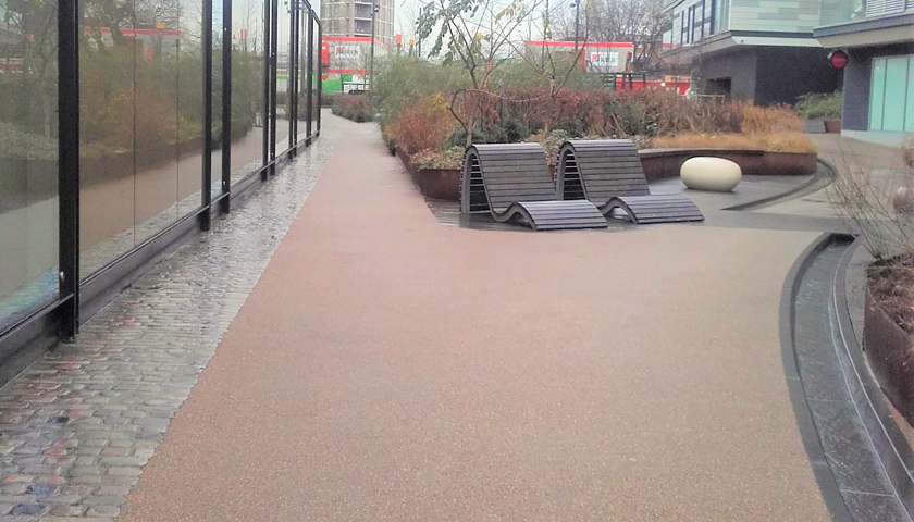 resin bound paving