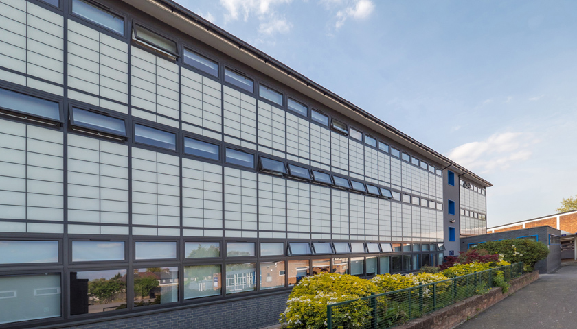 translucent cladding & Kalwall® sheds light on education with Structurau0027s translucent cladding
