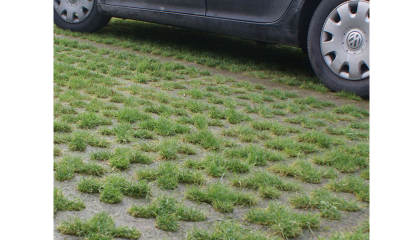Grass Permeable Paving