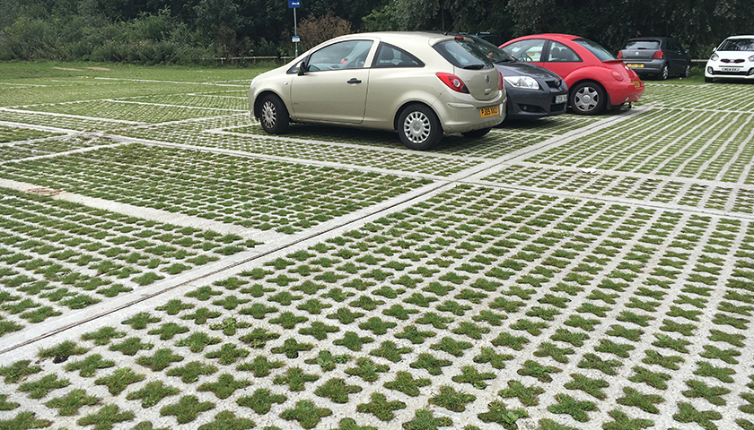 Permeable Grass Paving