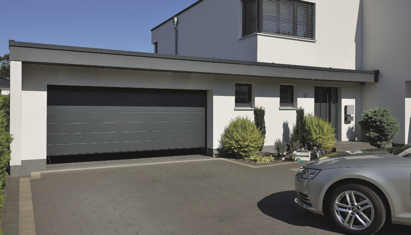 Be thermally efficient with Hörmann's latest sectional garage doors