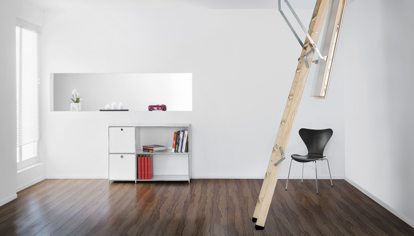 Passive House certified loft ladder from Premier