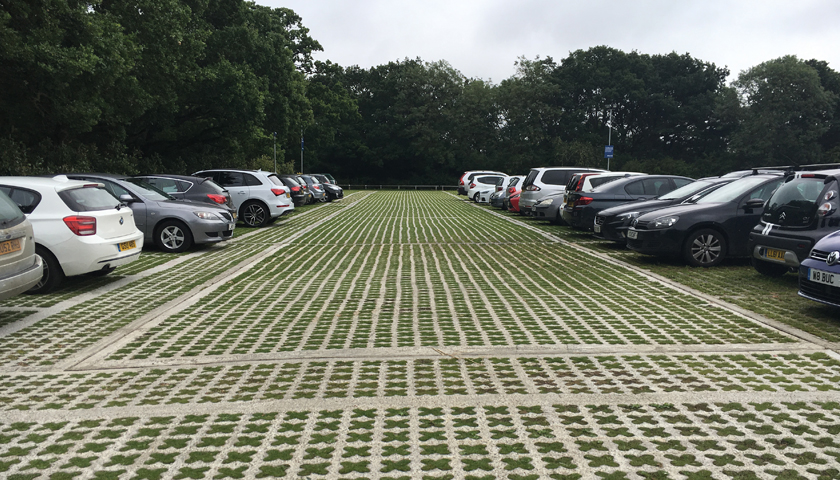 permeable grass reinforcement