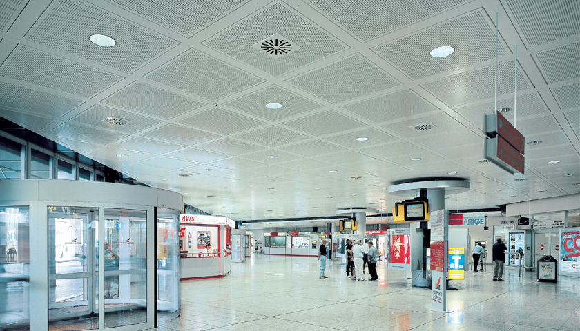 tile and plank ceiling systems