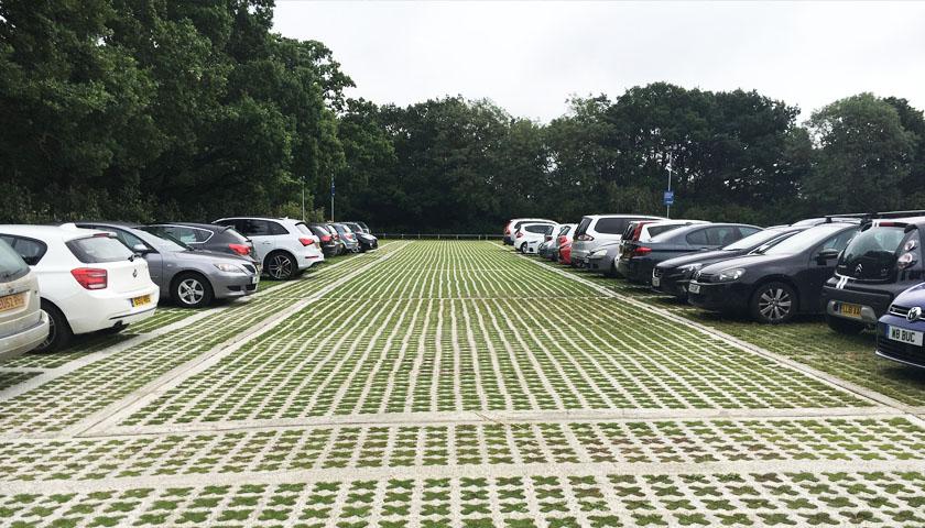 grass paving