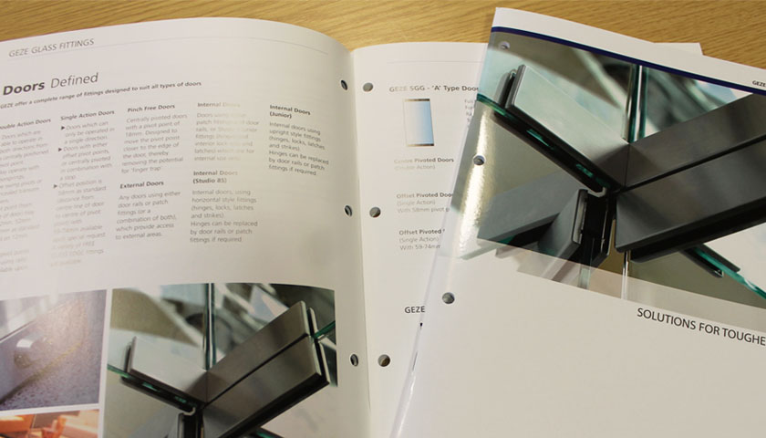 When the Going Gets Tough – suitable solutions for toughened glass by GEZE UK