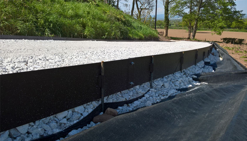 steel landscape edging