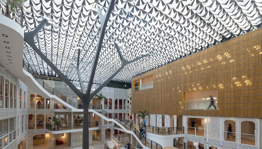 Hunter Douglas develops a custom-designed ceiling