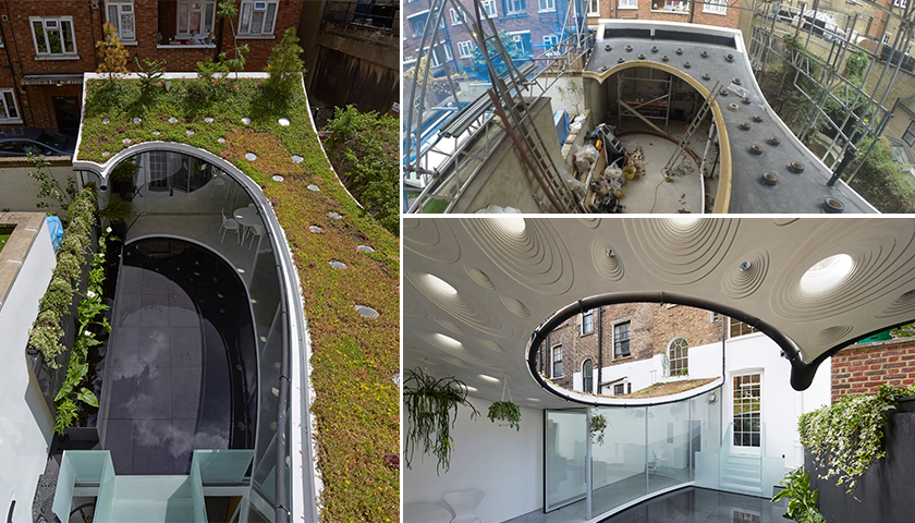 Kemper System tops London's best new Extension with waterproofing systems