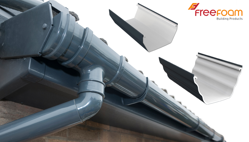 Freefoam Gutter Systems – We'll be working our Grey Back to you!