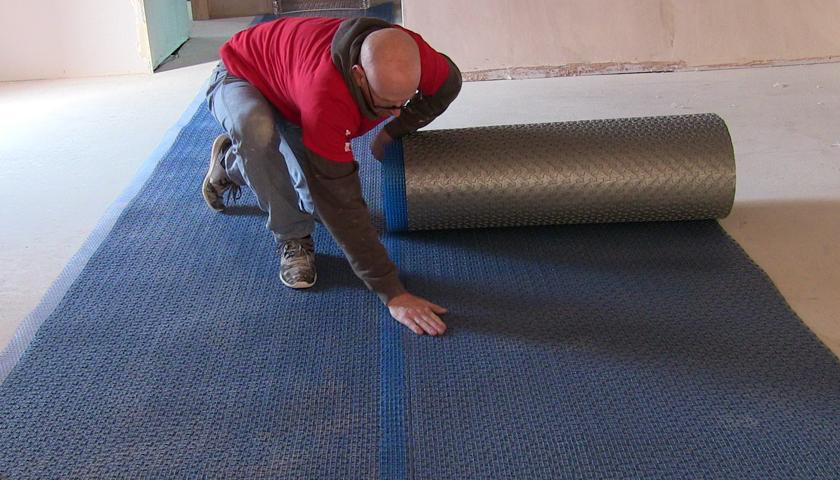uncoupling mat