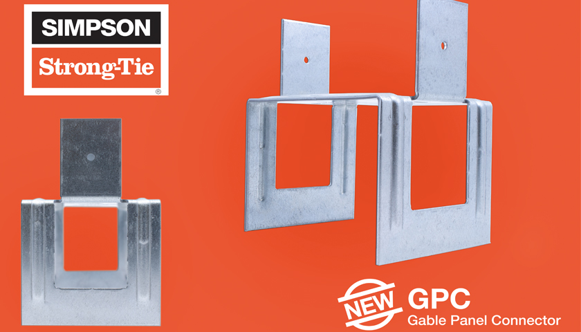 Gable Panel Connector