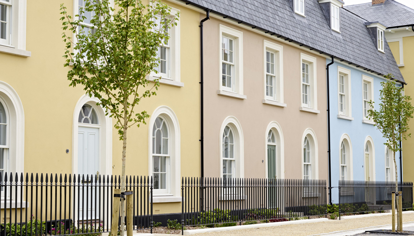 AkzoNobel Wood Coatings at the Poundbury Estate in Dorset