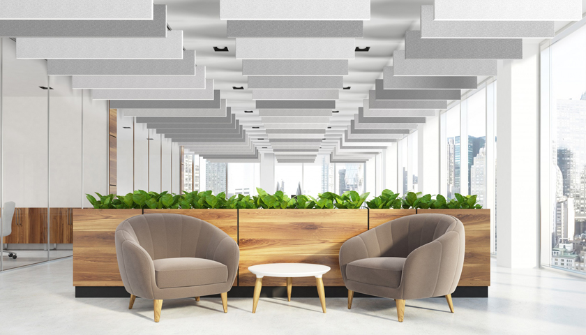 Hunter Douglas Architectural launches HeartFelt® Baffle Ceilings