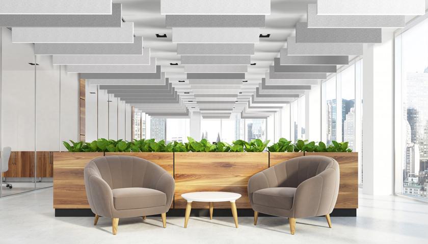 Hunter Douglas Architectural launches HeartFelt® Baffle Ceilings