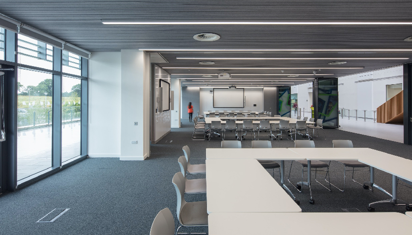 Quadram Institute chooses Hunter Douglas HeartFelt® ceiling