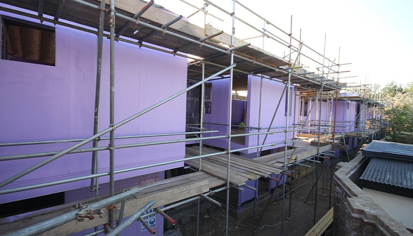 9mm Magply given 'purple passive' treatment for Peckham properties
