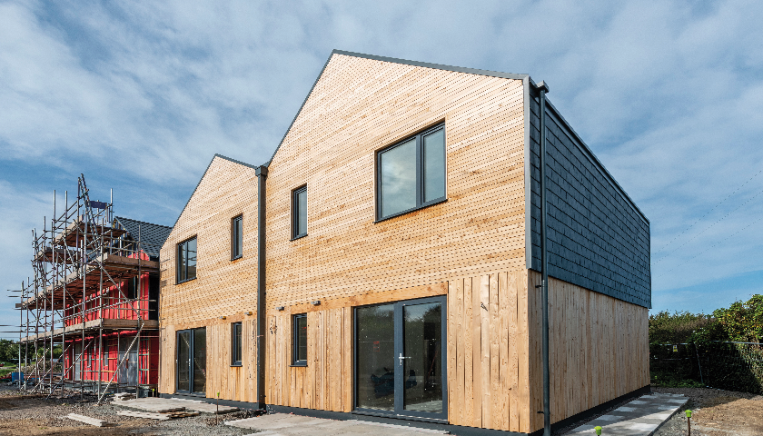 Wraptite® airtightness solution provides huge benefits for Anglesey modular homes