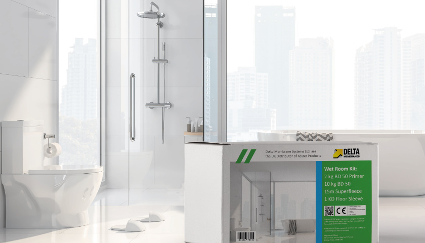 Koster BD Wetroom Tanking Kit – the complete fully flexible wet Room sealing solution...