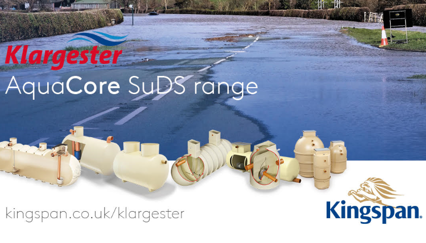 Kingspan Klargester Relaunching SuDS Product Range