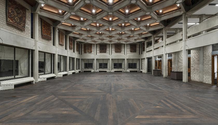 Bespoke wood floor for award-winning listed building