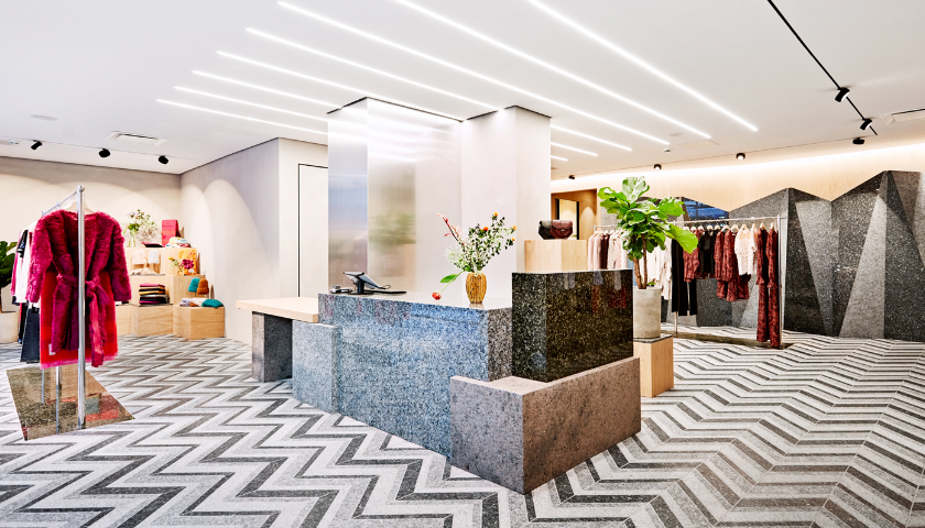 Bringing Drama to Retail with Lundhs Real Stones natural stone