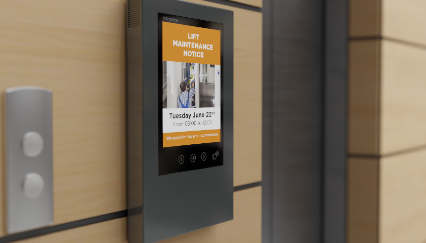 Start the conversation today with Intratone's Interactive Digital Noticeboard