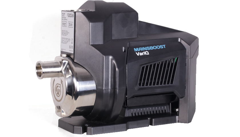 Variable speed and intelligent control with Stuart Turner's VariQ water pump