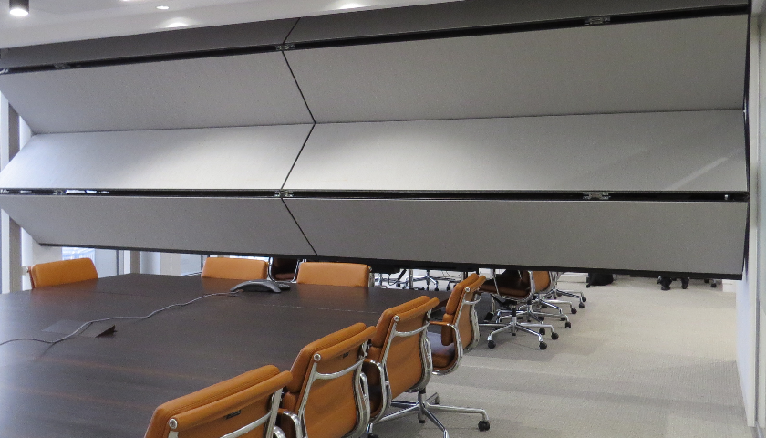 Style's Skyfold partitioning system